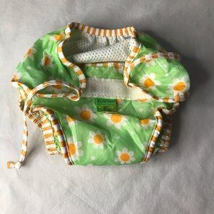 2/$15 KUSHIES adjustable swim diaper floral